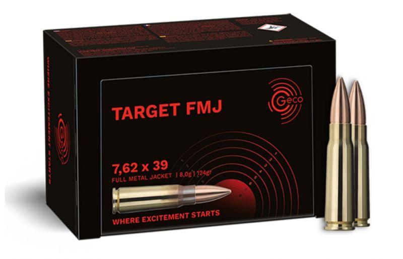 GECO Target cal.7,62x39 FMJ /50
