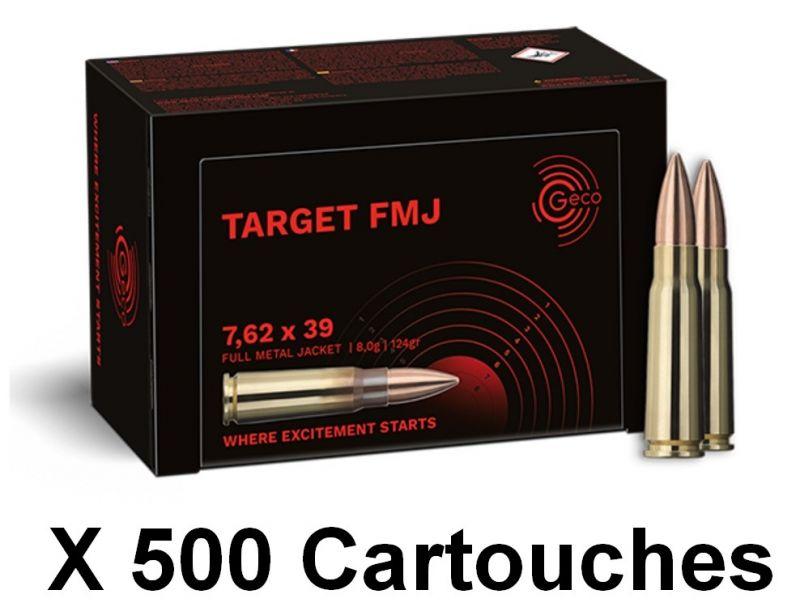 GECO Target cal.7,62x39 FMJ /500
