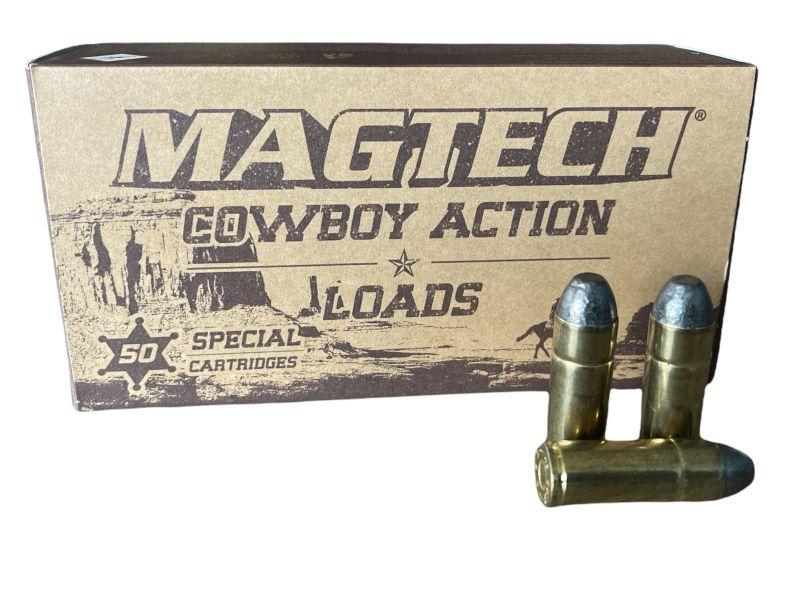 Cartouches MAGTECH COWBOY ACTION cal.45 Long Colt LFN 200 grains - 13 grammes /50