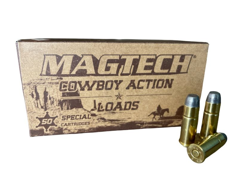 Cartouches MAGTECH COWBOY ACTION cal.44-40 Win LFN 225 grains - 14.5 grammes /50