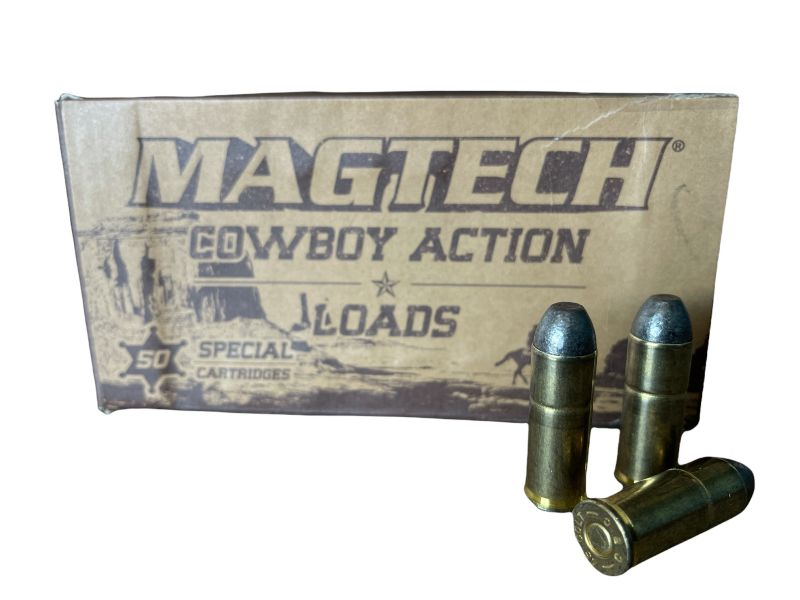 Cartouches MAGTECH COWBOY ACTION cal.45 Long Colt LFN 250 grains - 16.2 grammes /50