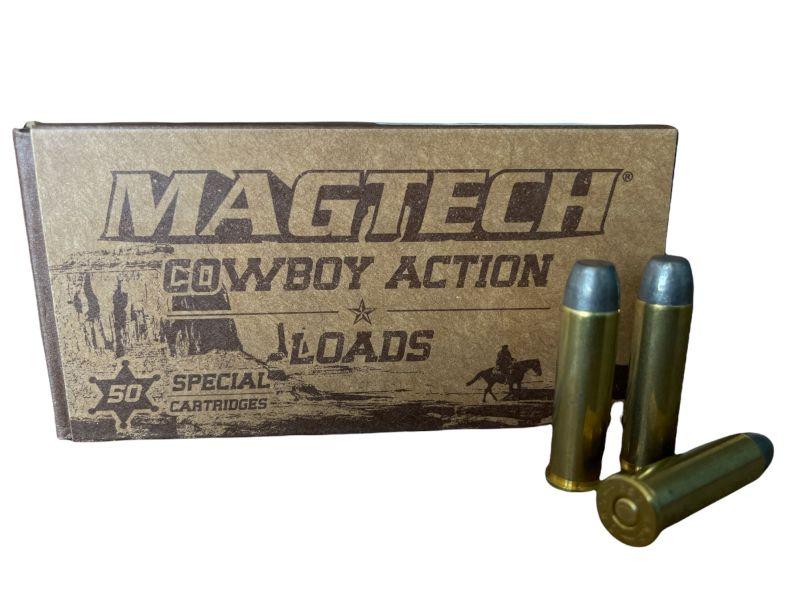 Cartouches MAGTECH COWBOY ACTION cal.357 Magnum LFN 158 grains - 10.2 grammes /50