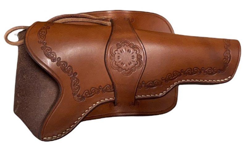 Holster en cuir Western pour revolver 6