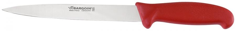 Couteau à dénerver BARGOIN rouge