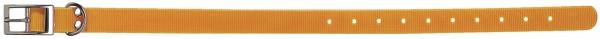 Collier pour chien Polyuréthane ORANGE taille 65 cm / largeur 25mm