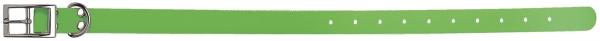 Collier pour chien Polyuréthane VERT FLUO taille 45 cm / largeur 25mm