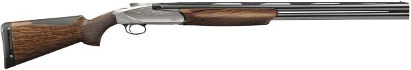 Fusil de chasse superposé BENELLI 828U Silver cal.12/76 (66cm)