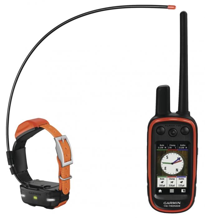 ''Pack GPS'' GARMIN Collier de répérage ALPHA 100 & T5F Mini