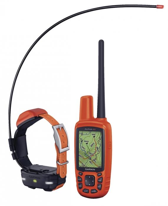 ''Pack GPS'' GARMIN Collier de répérage ALPHA 50 & T5F Mini