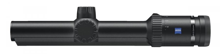 Lunette ZEISS Conquest V6 1.1-6X24 ret.60 lumineux rail ZM