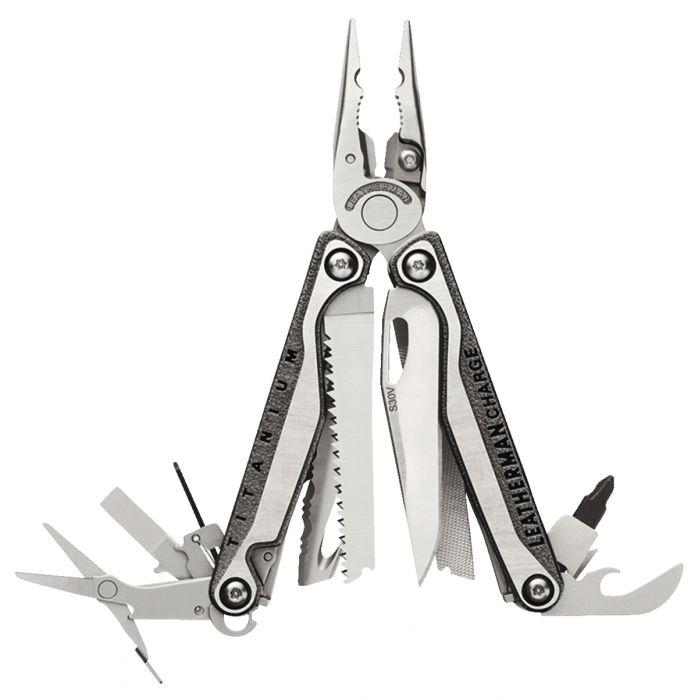 Couteau Multifonctions LEATHERMAN CHARGE+ TTI - 19 fonctions