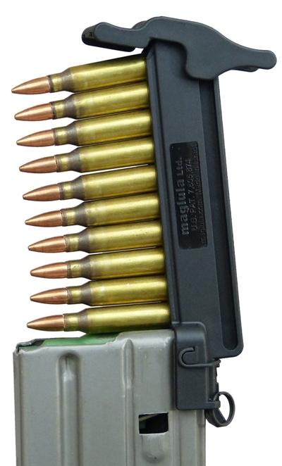 Chargette MAGLULA pour AR15 - M16 cal.5,56 - 223 Rem