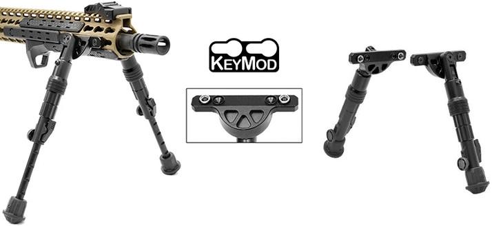 """Bipied AR-15 UTG Fixation KEYMOD """"14.5 à 20cm"""""""
