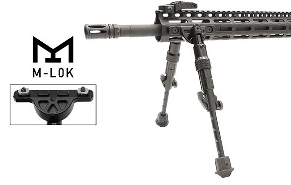 Bipied AR-15 UTG Fixation M-LOK