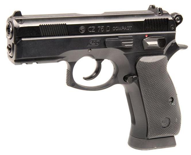 Pistolet CZ 75D Compact ASG cal.4,5mm BB's