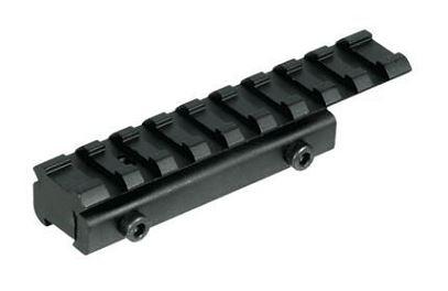 Adaptateur UTG rail picatinny 21mm pour carabine à rail de 11mm