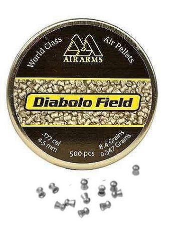 Plombs 4.5 AIR ARMS Diabolo Field (0.547 gr) cal.4,5mm