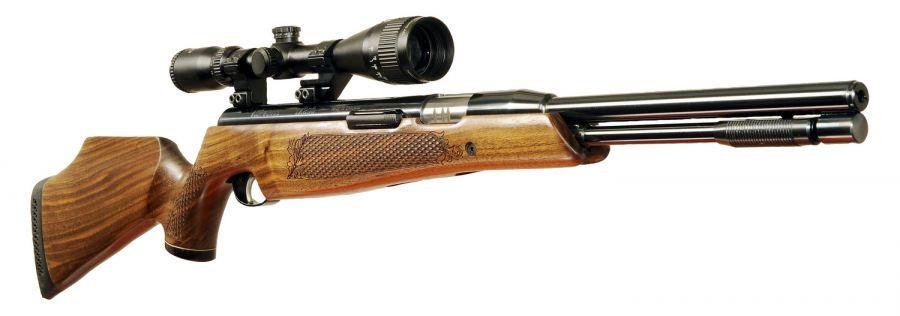Carabine AIR ARMS TX200 HC Noyer cal.4,5mm (16 joules) avec LYNX Varmint 6-24x42 AO