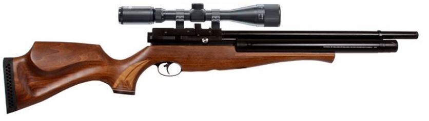 Carabine PCP AIR ARMS S510 SL Extra Bi-tube cal.5,5mm (40 joules) ''Pack SNIPER'' LYNX Varmint 6-24x42 AO