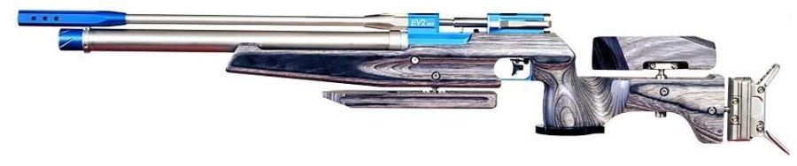 Carabine PCP AIR ARMS EV2 Mk4 Bleu Field Target cal.4,5mm (16 joules)