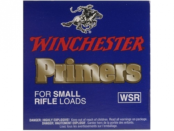 Amorces WINCHESTER Primers Standard Small Rifle /100