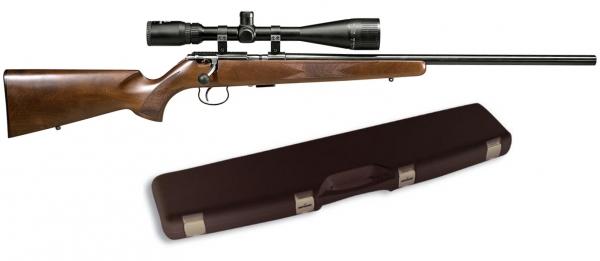 Carabine 22LR ANSCHUTZ mod.1416D HB Canon Lourd ''Pack mallette LYNX 6-24x42 AO