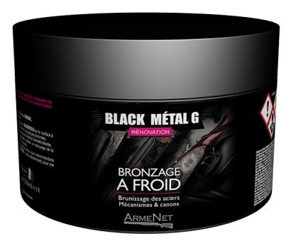 Bronzage à froid BLACK METAL GEL ARMENET 100ml