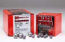 Sachet de 100 balles HORNADY 495gr cal.50