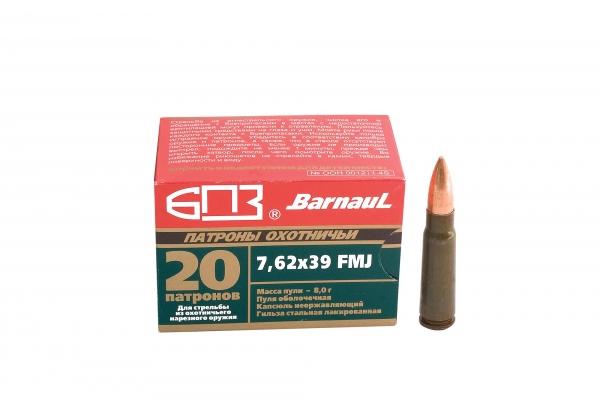 BARNAUL cal.7.62x39 FMJ/20