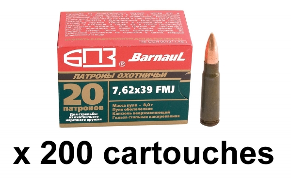 BARNAUL cal.7.62x39 FMJ /200