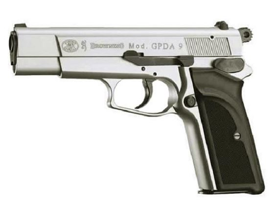 Pistolet BROWNING GPDA Nickel� cal.9mm UMAREX