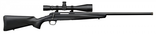 BROWNING X-BOLT VARMINT SUPER FEAHTER THREADED cal.308 win ''HAWKE Sidewinder 8-32x56 SR PRO''