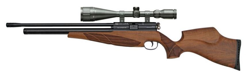 Carabine PCP BSA Scorpion SE Beech cal.5,5mm ''LYNX Varmint 6-24x42 AO'' Full Power