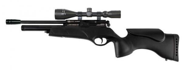 Carabine PCP BSA Ultra SE Tactical cal.4,5mm ''LYNX Varmint 6-24x42 AO'' (16 JOULES)