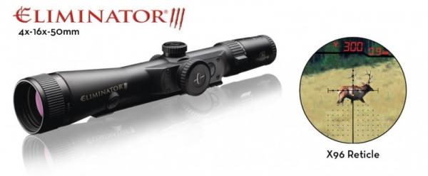Lunette t�l�m�tre BURRIS Eliminator III LaserScope 4-16x50