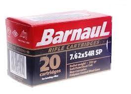 BARNAUL cal.7.62x54 R Soft Point