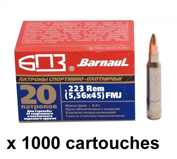 BARNAUL cal.223 Rem FMJ /1000