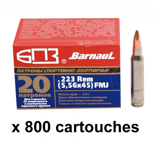 BARNAUL cal.223 Rem FMJ /800