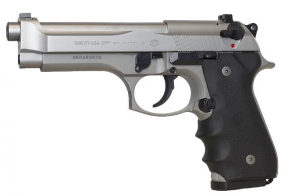 Pistolet BERETTA 92 FS Brigadier INOX calibre 9x19