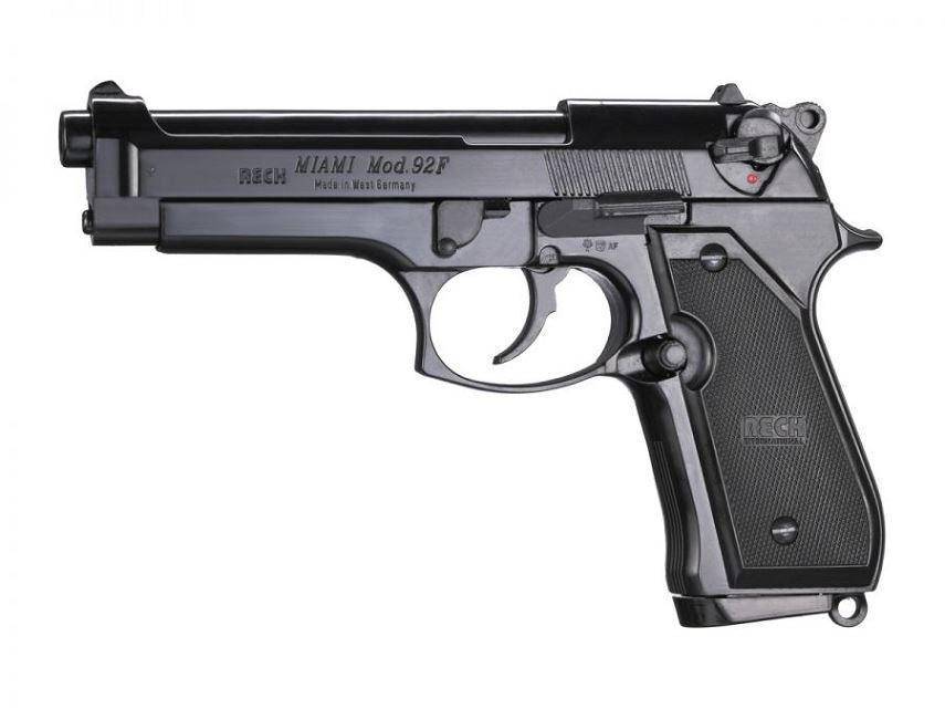 Pistolet RECK BERETTA 92F Miami Bronz� cal.9mm PA UMAREX