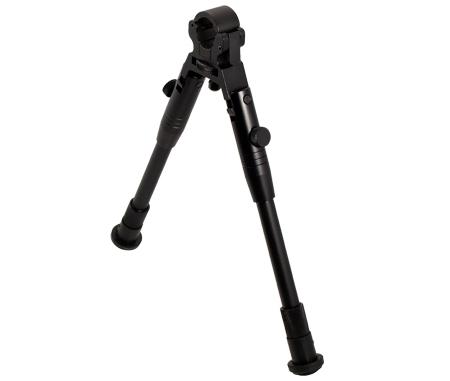 """Bipied UTG (23-28cm) Fixation sur canon 11/19 mm """"Pieds caoutchouc"""""""