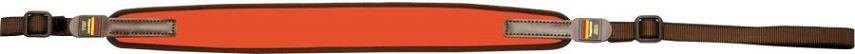 Bretelle NIGGELOH Néoprène ORANGE Fluo pour carabine