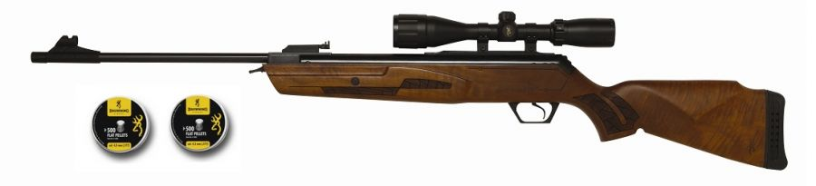 Carabine BROWNING Gold Hunter ''Combo lunette BROWNING 3-9x40'' cal.4,5mm (24 joules)