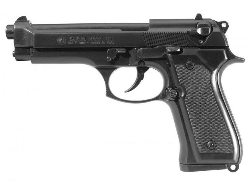 Pistolet BRUNI 92 Bronz� cal.9mm