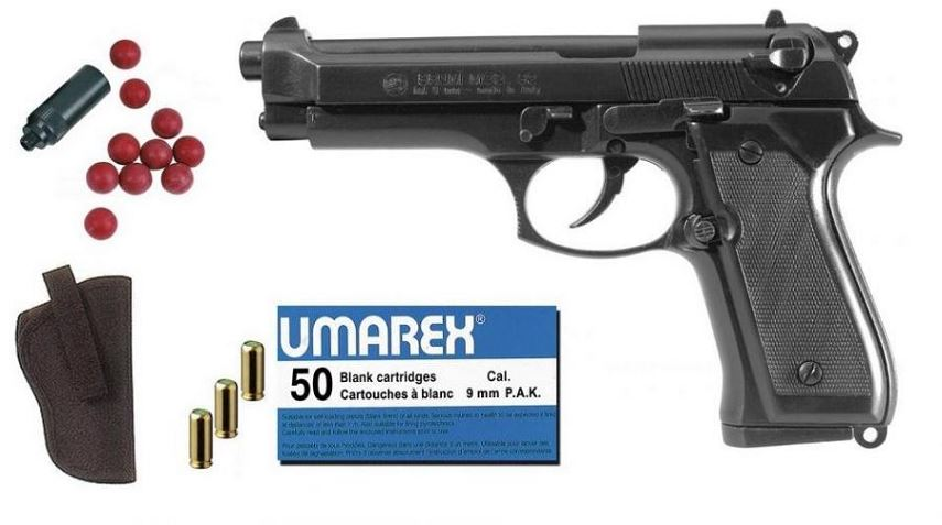 Kit Défense Pistolet BRUNI 92 Bronzé Cal.9mm PA