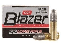 CCI 22lr Blazer Round Nose HV /50
