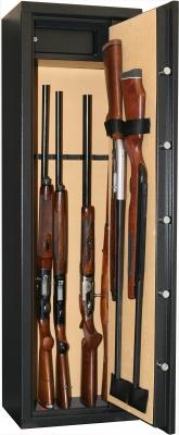 Coffre INFAC Classic 8+2 armes avec lunette - coffre int�rieur (92kg)