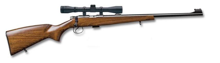 Carabine 22LR CZ 452 Standard avec lunette BAUER 3-9x40