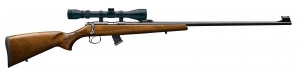 Carabine 22LR CZ 455 Jaguar avec lunette WALTHER 3-9x40