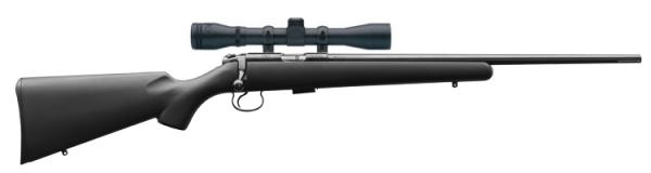 Carabine 22LR CZ 455 Synthétique avec lunette LYNX 3-9x40